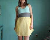 Summer Dress, Racerback style, size 4