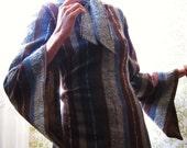 RESERVED FOR TARA.  Maude.  Long striped wool dress.