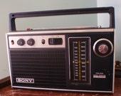 Roger.  1972 Sony AM/FM Radio.