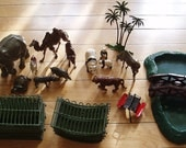 RESERVED FOR KIMBER.  Tommy.  Britains Zoo No. 24z, collectible animal zoo set.