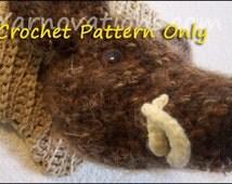 Boar, Mounted Wild Boar's Head Crochet Pattern