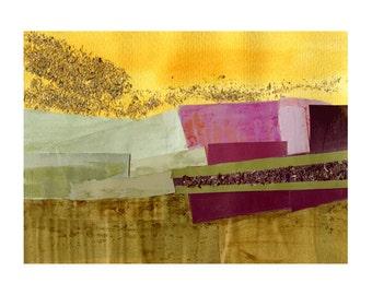 Tuscan Landscape Print, Tuscany in an Autumn Haze