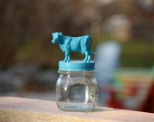 Mexican Blue Small Cow Jar named Frida