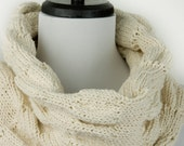 Ruched Cowl Knitting Pattern