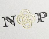 Luxury wedding invitations Celtic Knot