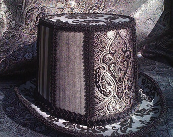 The Groom's Victorian Steampunk Top Hat
