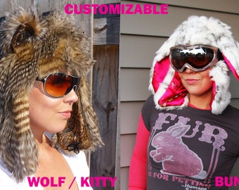 Fully Customizable Furry Critter Aviators