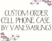 Vanessablings Custom Phone Cases for U Swarovski Crystal Elements