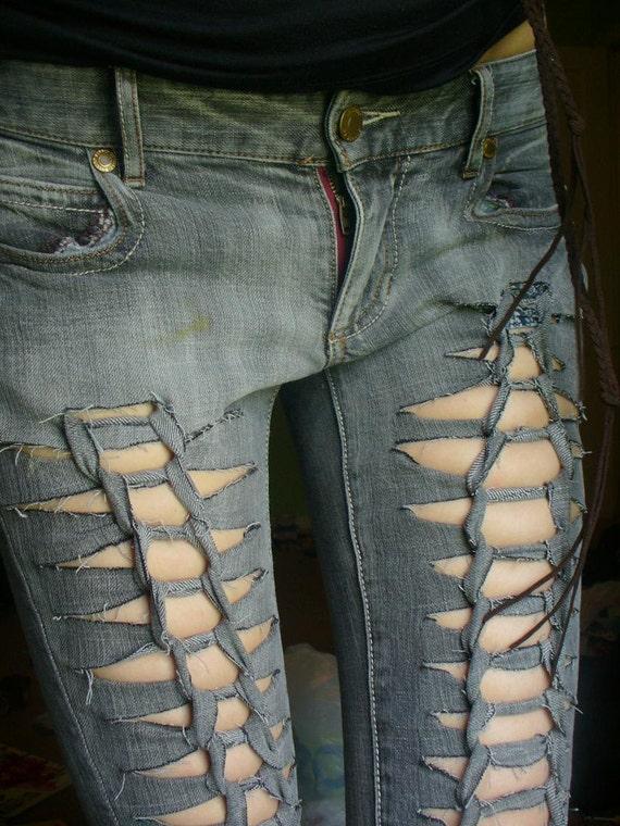 custom skinny jeans - Jean Yu Beauty