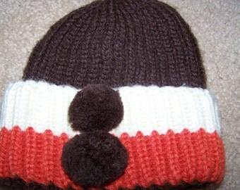 VIntage Children's Winter Hat