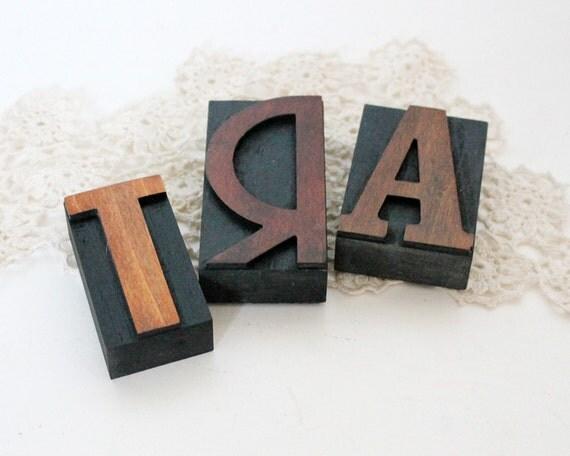 Letterpress Blocks ART