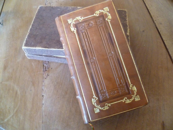 Art Nouveau Book French Missel Prayer Religious Book in Original Box Stunning Condition