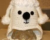 Poodle Earflap Hat