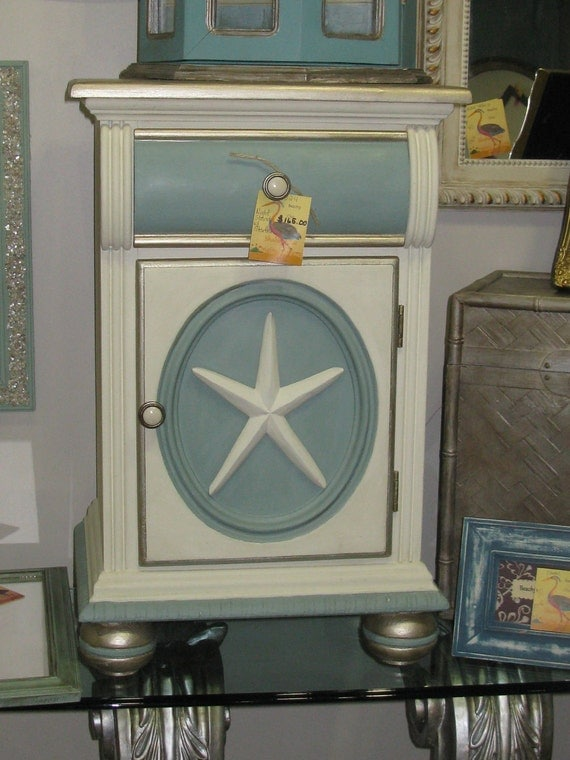 Items Similar To Coastal Nightstand Sold Eibands Gallery
