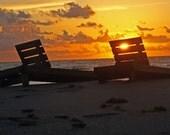 Sunrise Shining Through... 8X10 Golden Beauty of Floridas Southeast Coast