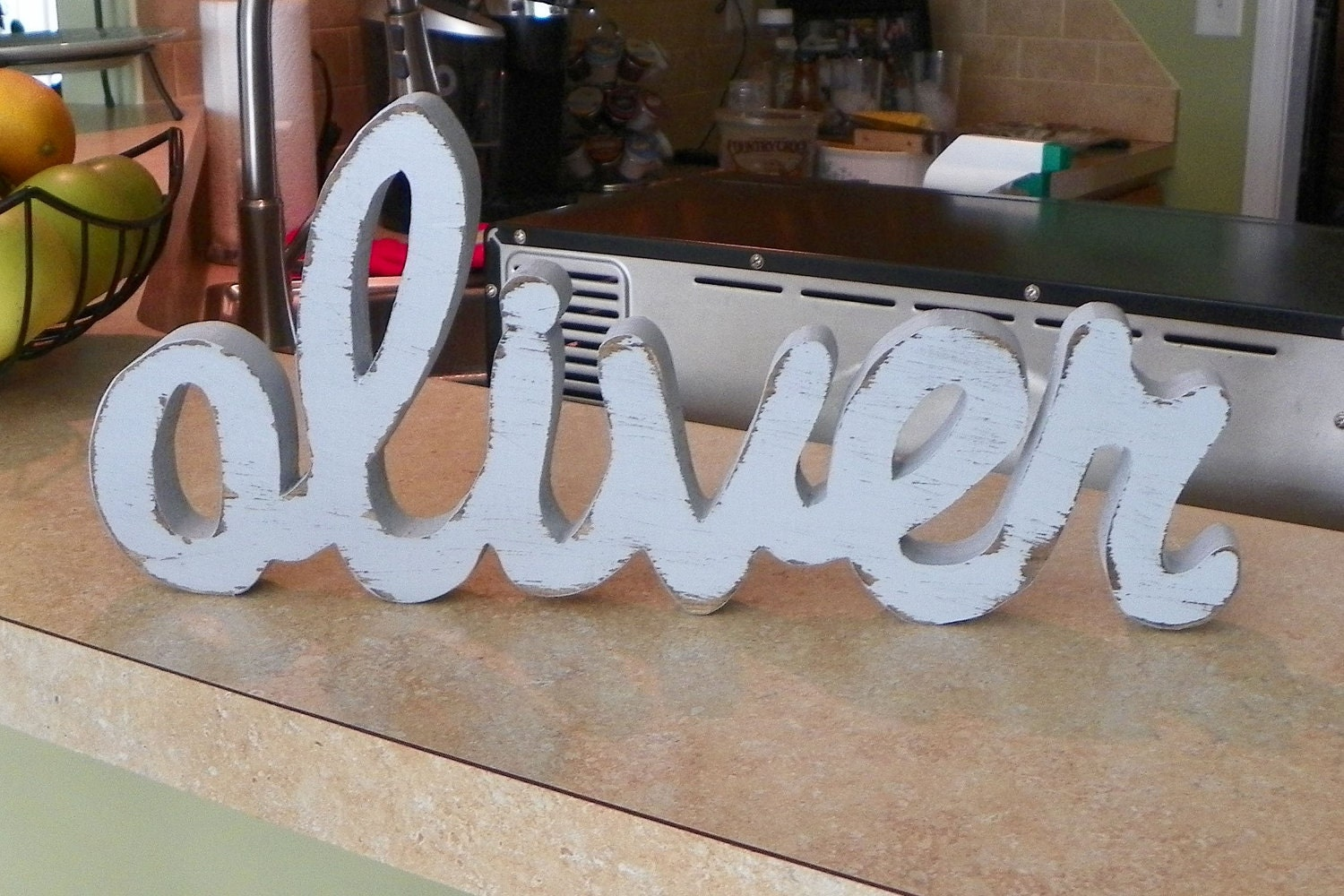 Custom Wood Name Sign Nursery Home Decor By TheLetteredLane