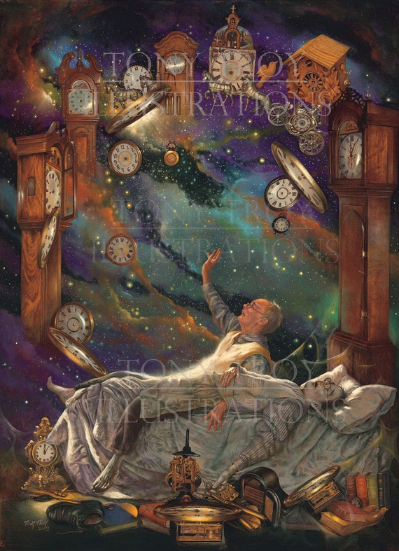 The Clockmaker Poster by Tony Troy