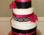 Three-Tier Towel Cake