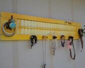Yellow Shutter Jewelry Display