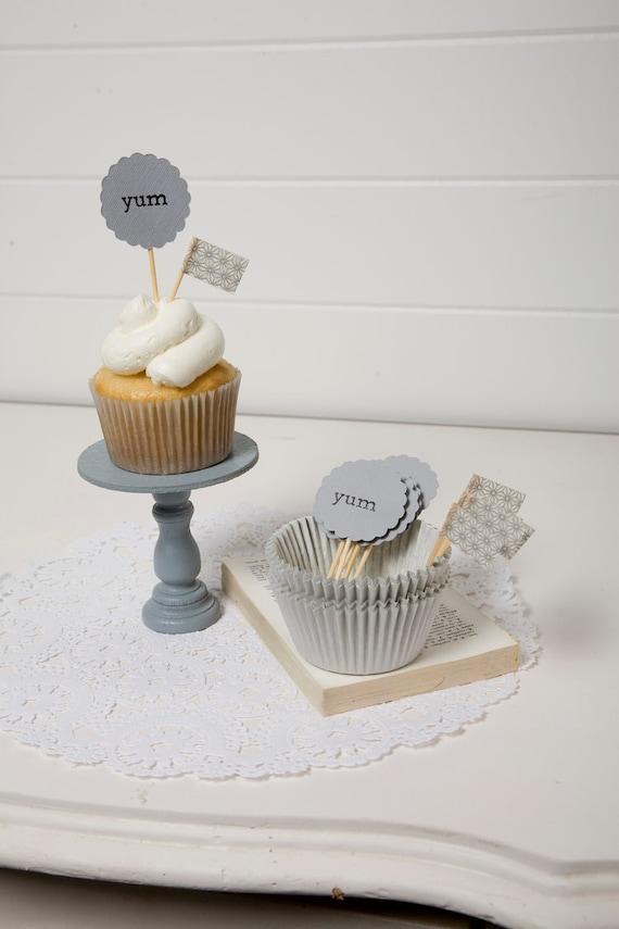 Grey Cupcake Kit