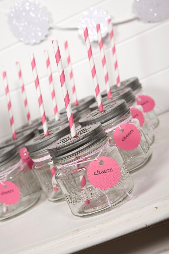 Bright Pink Party Drink Kit