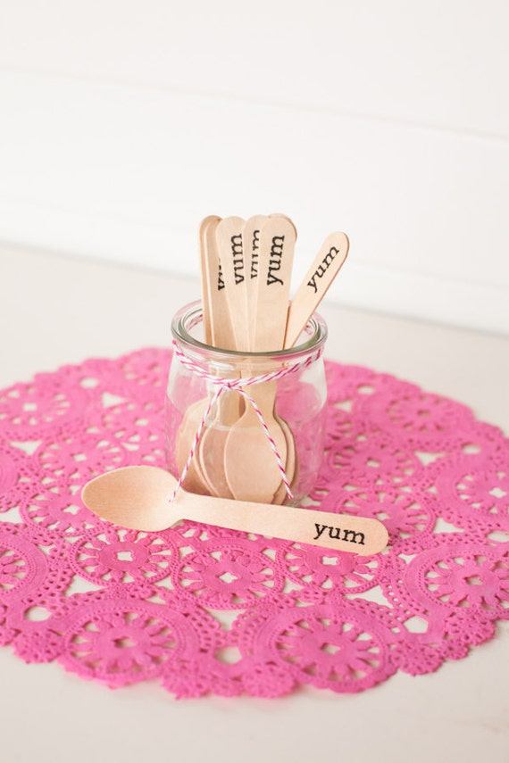Hand-stamped Mini Spoons -36