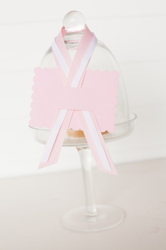 Party Food Labeling Kit - Light Pink