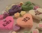 Valentine Conversation Hearts Bubble Bath Bar