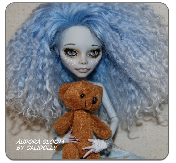 RESERVED Custom OOAK Monster High Art Dolls