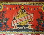 vintage DEALITES Christmas Lights in Original Box