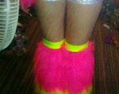 Furry Leg Warmers - Reserved