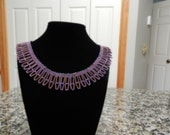 Tiers of Bugles Necklace