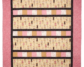 Favorite Fabric Rows Quilt Pattern