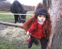 Rider doll, Rider, cloth doll, doll siblings, collector doll