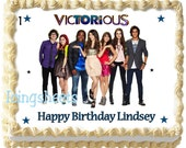 Victorious Victoria Justice  photo edible image cake topper Birthday cake decoration frosting sheet