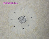 Diamond Daisy Flower - White