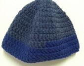 Wool Hat - Blue