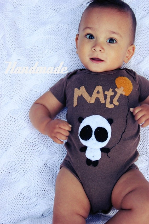 PERSONALIZED onesies baby clothes custom baby boy by mukibaba
