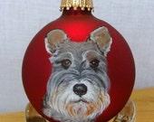 Custom Hand Painted Pet Portrait Ornament