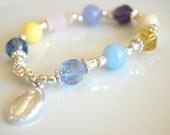 Multicolor Rosary Bracelet
