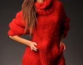 Mohair sweater/tunic