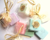 Baby Shower Favors: 50 Baby shower soap favors, mini guest soaps, favors