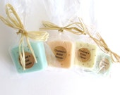 25 Soap Wedding Favors or Party Favors -Bridal Shower - Party Favors - Rustic Wedding - Custom Wedding Favors in your Wedding colors