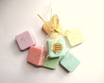 Wedding Favors -Soap Favors - Bridal Shower - Party Favors - Rustic Wedding - Custom Wedding Favors in your Wedding colors
