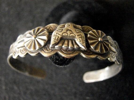 Very Old Hand Stamped Bracelet