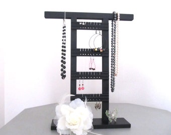 Jewelry Holder Stand- Organize Earrings, Necklaces, Bracelets