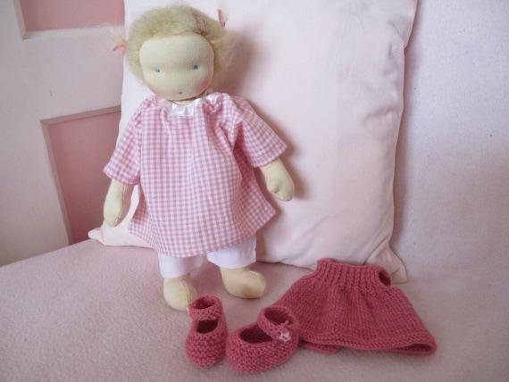 "Handmade Waldorf doll, Fientje, ""12 inch"