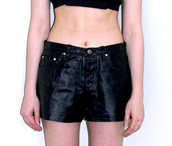 RESERVED Leather Shorts (Size 30-32)