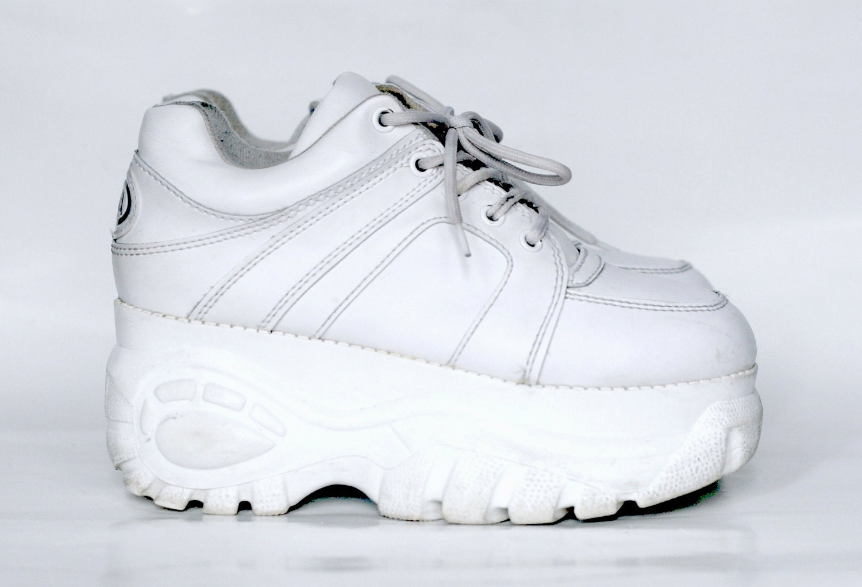 1990 s platform sneakers by soda size 8 5 9