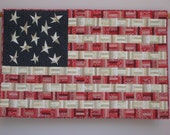 Flag No. 6 wall quilt